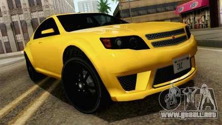 GTA 5 Cheval Fugitivo FIV АПП para GTA San Andreas