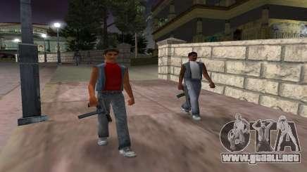 Nuevas armas, las pandillas para GTA Vice City