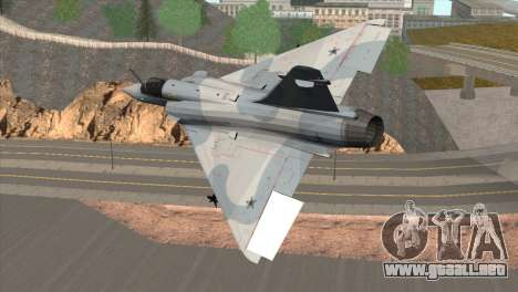 Dassault Mirage 2000 Forca Aerea Brasileira para GTA San Andreas left