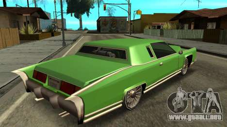 Beta Remington para GTA San Andreas left