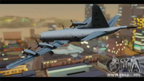 Lockheed P-3C Orion US Navy VP-24 para GTA San Andreas left