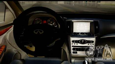 Infiniti JX 35 2013 para visión interna GTA San Andreas