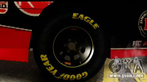 Elegy NASCAR PJ para GTA San Andreas vista posterior izquierda