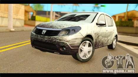 Dacia Sandero Dirty Version para GTA San Andreas