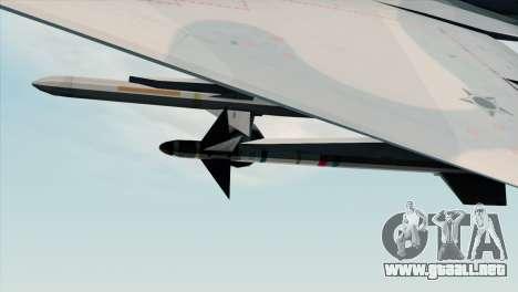 Dassault Mirage 2000 Forca Aerea Brasileira para la visión correcta GTA San Andreas