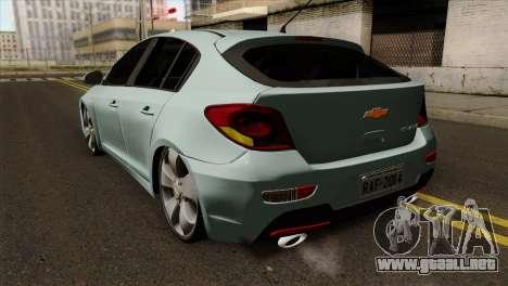 Chevrolet Cruze Hatchback para GTA San Andreas left