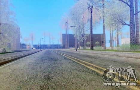 DirectX Test 3 - ReMastered para GTA San Andreas segunda pantalla