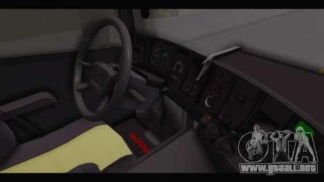 Scania 164L 580 V8 para la visión correcta GTA San Andreas