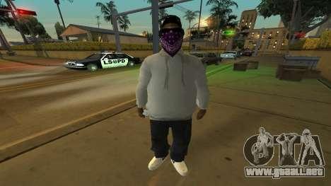 Ballas Skin Pack para GTA San Andreas tercera pantalla