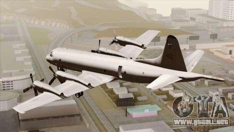 Lockheed P-3C Orion JMSDF Shimofusa para GTA San Andreas left