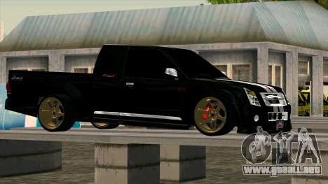 Isuzu D-Max X-Series para GTA San Andreas left