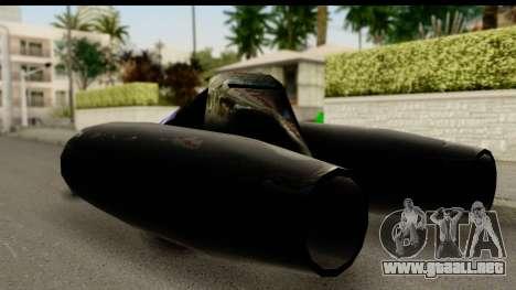 Jet Car para GTA San Andreas left