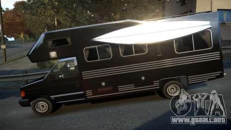 GTA IV Steed Camper para GTA 4 left