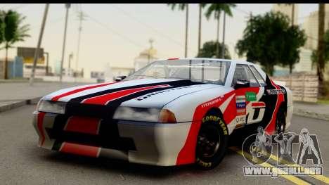 Elegy NASCAR PJ 2 para la visión correcta GTA San Andreas