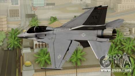 F-16D Fighting Falcon para GTA San Andreas left