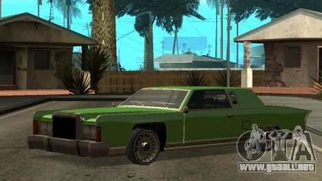 Beta Remington para vista lateral GTA San Andreas