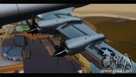 Lockheed P-3C Orion US Navy VP-24 para la visión correcta GTA San Andreas