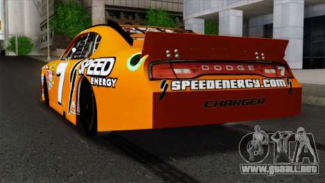 NASCAR Dodge Charger 2012 Short Track para GTA San Andreas left