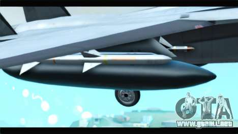 McDonnell Douglas F-15D Timberwolves Squadron para la visión correcta GTA San Andreas
