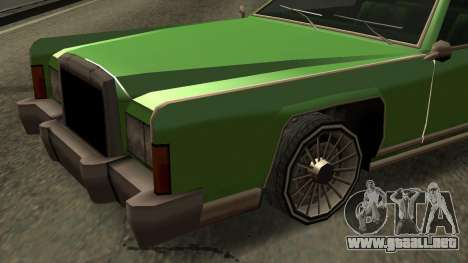 Beta Remington para la vista superior GTA San Andreas