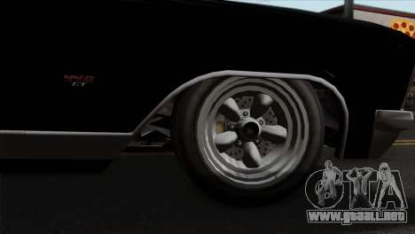 GTA 5 Albany Buccaneer para GTA San Andreas vista posterior izquierda