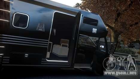 GTA IV Steed Camper para GTA 4 vista interior