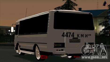 PAZ 3205 Tuning para la visión correcta GTA San Andreas
