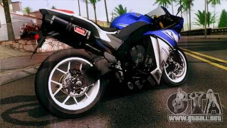 Yamaha YZF-R1 PJ para GTA San Andreas left