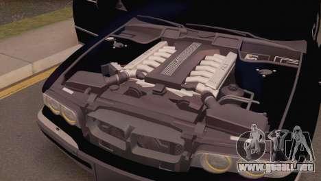 BMW 750iL E38 para la visión correcta GTA San Andreas