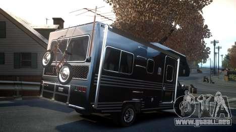 GTA IV Steed Camper para GTA 4 vista hacia atrás