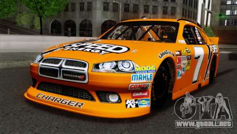NASCAR Dodge Charger 2012 Short Track para GTA San Andreas