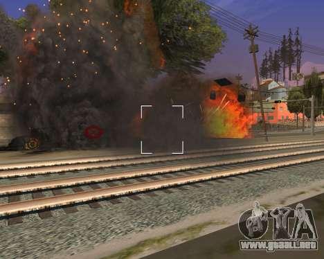 Ledios New Effects v2 para GTA San Andreas quinta pantalla