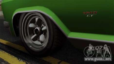 GTA 5 Albany Buccaneer IVF para GTA San Andreas vista posterior izquierda