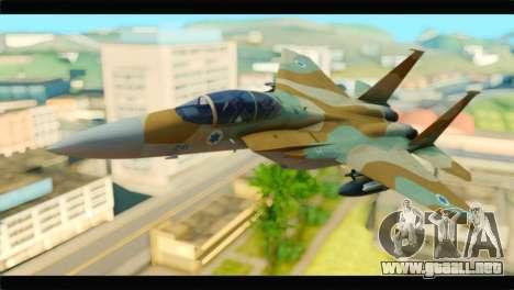 Boeing F-15C IAF para GTA San Andreas