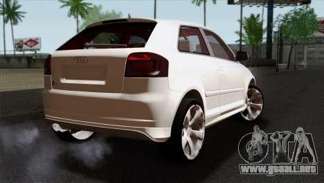 Audi S3 2011 para GTA San Andreas left