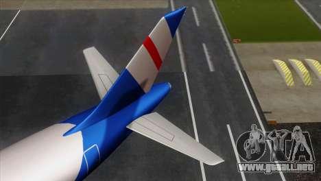 GTA 5 Air Herler para GTA San Andreas vista posterior izquierda