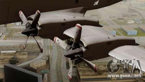 Lockheed P-3C Orion JMSDF Shimofusa para la visión correcta GTA San Andreas