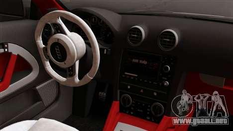 Audi S3 2011 para la visión correcta GTA San Andreas