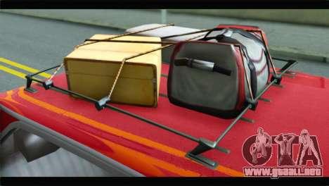 GTA 5 Benefactor Glendale para GTA San Andreas vista hacia atrás