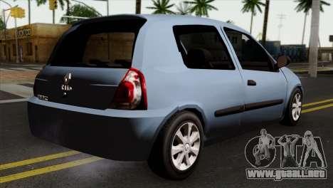 Renault Clio Mio 3P para GTA San Andreas left