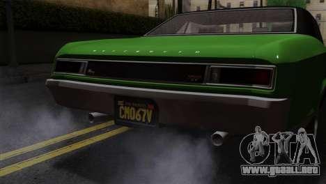 GTA 5 Albany Buccaneer IVF para la visión correcta GTA San Andreas