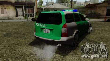 Opel Astra G 1999 Police para GTA San Andreas left