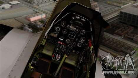 P-51D Mustang Da Quake para la visión correcta GTA San Andreas