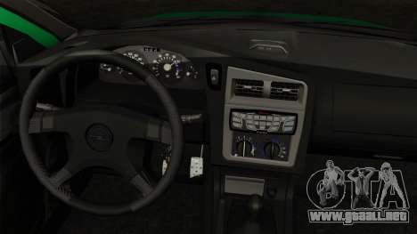 Opel Astra G 1999 Police para GTA San Andreas vista posterior izquierda