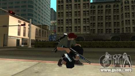 Guns Pack para GTA San Andreas tercera pantalla
