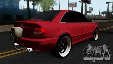 Audi S4 2000 Drag Version para GTA San Andreas left