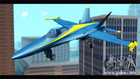 McDonnell Douglas FA-18 Blue Angel para GTA San Andreas