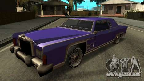Beta Remington para vista inferior GTA San Andreas