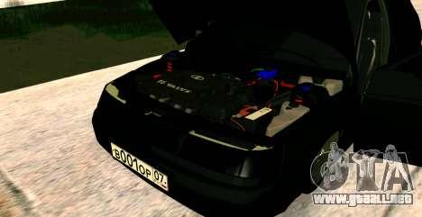 EL USO DE 2112 BUNKER para la visión correcta GTA San Andreas