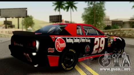 Elegy NASCAR PJ para GTA San Andreas left